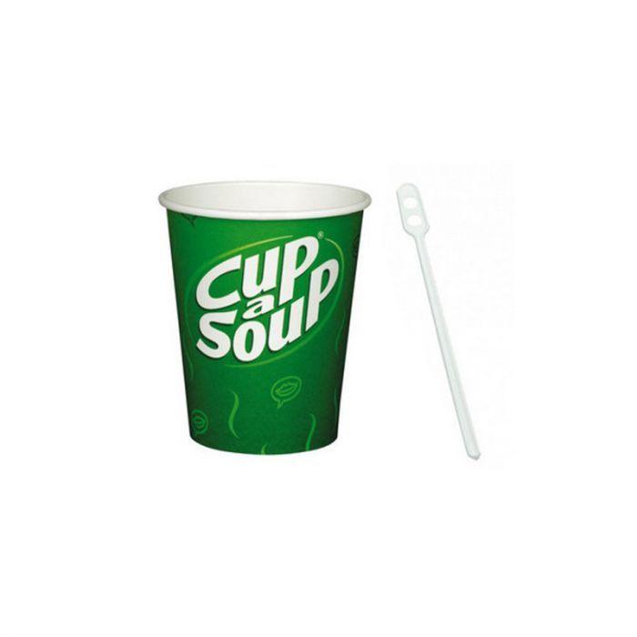 Spiksplinternieuw Cup-a-Soup bekers + roerstaafjes tbv aut. 2500st. FT-64