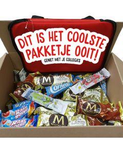 Ola Mix doos voor op het Werk 100 ijsjes + koeltas