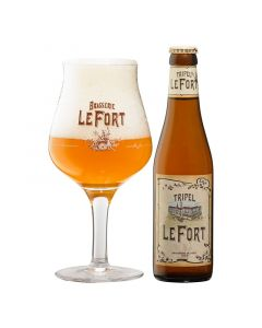Brasserie LeFort Tripel 24x33cl.