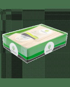 Biodore snackvork hout 140mm 200 stuks