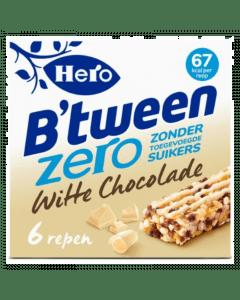 B'tween Witte Chocolade zero 6x20gr.