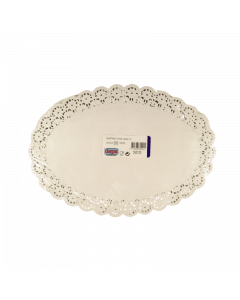 Depa taartrand ovaal 32x22cm. 250 stuks