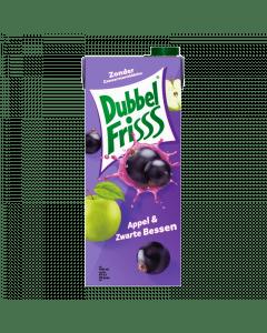 Dubbelfrisss Appel & Zwarte bes 1,5ltr.