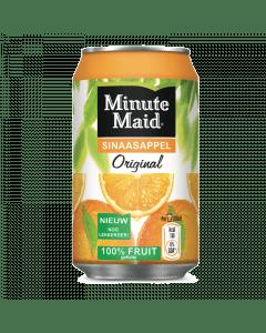 Minute Maid jus d'orange blik 24x33cl.