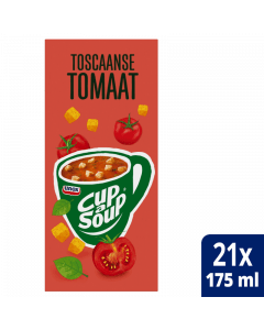 Cup-a-Soup Toscaanse tomaat 21x175ml.