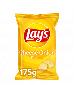 Lay's Chips Cheese Onion 8x175gr.