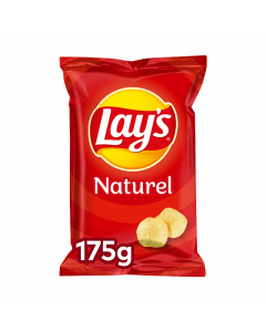 Lay's Chips naturel 8x175gr.