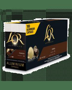 L'Or Espresso Forza UTZ 100 capsules