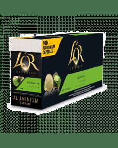 L'Or Espresso Lungo Elegante UTZ 100 capsules