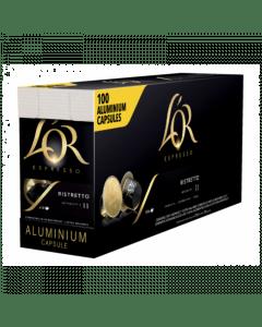 L'Or Espresso Ristretto UTZ 100 capsules