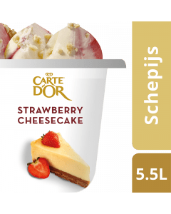 Ola Carte d'Or Strawberry Cheesecake 5,5ltr.