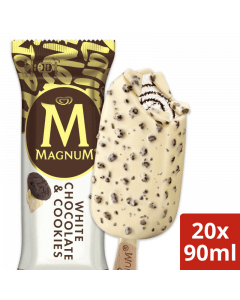 Ola Magnum White & Cookies 20x90ml. - E2.85