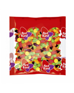 Red Band Winegums 1kg.