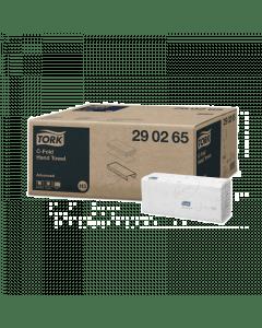 Tork Adv. handdoekje CF 2-lg 25x31 128 stuks