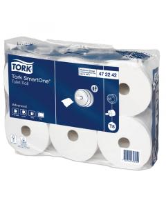 Tork Adv. SmartOneMini toiletpapier 2-lg 12 rollen