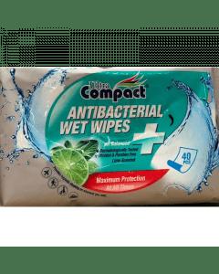 Ultra Compact Antibacteriele doekjes 40 stuks