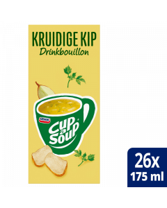 Cup-a-Soup Drinkbouillon Kruidige Kip 26x175ml.