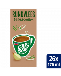 Cup-a-Soup Drinkbouillon Rundvlees 26x175ml.