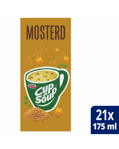 Cup-a-Soup Mosterd 21x175ml.
