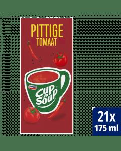 Cup-a-Soup Pittige tomaat 21x175ml.